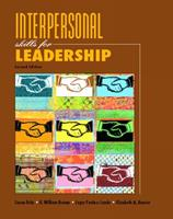 Interpersonal Skills for Leadership (2nd Edition) 013117343X Book Cover