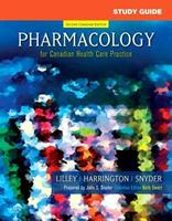 Study Guide for Pharmacology for Canadian Health Care Practice 1897422644 Book Cover