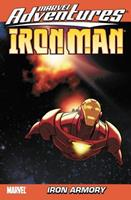 Marvel Adventures Iron Man: Many Armors of Iron Man Digest v. 2 0785126457 Book Cover