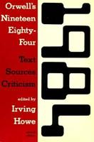 Orwell's Nineteen Eighty-Four: Text, Sources, Criticism 0155658115 Book Cover