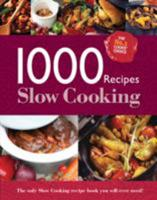 Slow Cooking (1000 Recipes - Igloo Books Ltd) 0857807854 Book Cover
