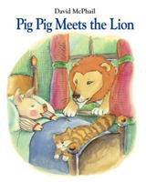 Pig Pig Meets the Lion 1580893589 Book Cover