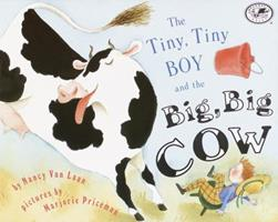 The Tiny, Tiny Boy and the Big, Big Cow (Umbrella Books for Every Child) 0679820787 Book Cover