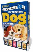 My Favorite Dog Stories: Learning to Read Box Set 0062313312 Book Cover