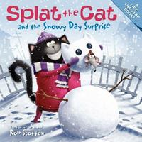Splat the Cat and the Snowy Day Surprise 0061978647 Book Cover
