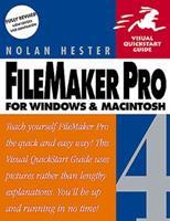 Filemaker Pro 4 for Windows & Macintosh (Visual QuickStart Guide) 0201696649 Book Cover