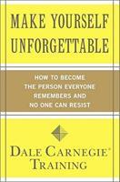 Cómo hacerse inolvidable / Make Yourself Unforgettable 143918822X Book Cover