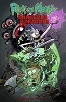Rick and Morty vs. Dungeons & Dragons 1684054168 Book Cover