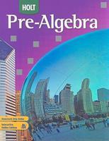 Holt Pre-Algebra 0030934680 Book Cover