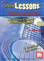 First Lessons Beginning Guitar: Learning Chords / Playing Songs [With CD] 0786658681 Book Cover