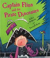 Captain Flinn and the Pirate Dinosaurs 0140569219 Book Cover
