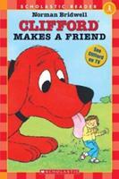 Clifford Makes A Friend (level 1) (Clifford) 0590379305 Book Cover