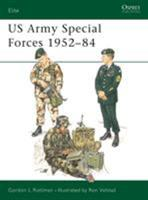 US Army Special Forces 1952-84 (Elite) 085045610X Book Cover