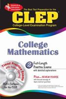 CLEP College Mathematics 0738603694 Book Cover