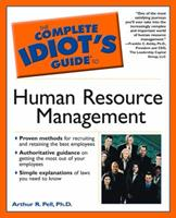 The Complete Idiot's Guide(r) to Human Resource Management 0028641949 Book Cover
