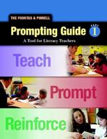 The Fountas & Pinnell Prompting Guide 1: A Tool for Literacy Teachers 0325018251 Book Cover