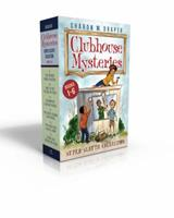 Clubhouse Mysteries Super Sleuth Collection: The Buried Bones Mystery; Lost in the Tunnel of Time; Shadows of Caesar's Creek; The Space Mission Adventure; The Backyard Animal Show; Stars and Sparks on 1481496956 Book Cover