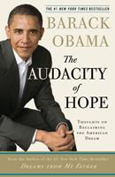 The Audacity of Hope: Thoughts on Reclaiming the American Dream 0307237699 Book Cover
