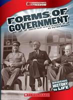 Forms of Government (Cornerstones of Freedom: Third Series) 0531213307 Book Cover