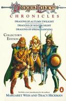 Dragonlance Chronicles: Dragons of Autumn Twilight/Dragons of Winter Night/Dragons of Spring Dawning (Collectors Edition) 0786918705 Book Cover