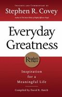 Everyday Greatness: Inspiration for a Meaningful Life 0785289593 Book Cover
