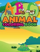 ABC Animal Coloring Books 1632879158 Book Cover