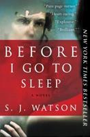 Before I Go to Sleep 0062060554 Book Cover
