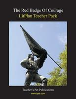 Litplan Teacher Pack: The Red Badge of Courage 1602492379 Book Cover