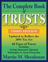 The Complete Book of Trusts 0471574481 Book Cover