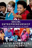 Social Entrepreneurship: What Everyone Needs to Know 0195396332 Book Cover