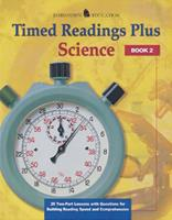Timed Readings Plus Science Book 4: 25 Two-Part Lessons with Questions for Building Reading Speed and Comprehension 0078273730 Book Cover