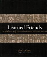 Learned Friends: A Tribute to Fifty Remarkable Ontario Advocates, 1950–2000 155221107X Book Cover