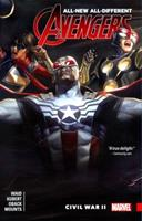 All-New, All-Different Avengers, Volume 3: Civil War II 1302902369 Book Cover