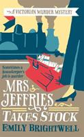 Mrs. Jeffries Takes Stock 0425142825 Book Cover