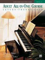 Alfred's Basic Piano Library Vol. 3: Adult All-In-One B007CLUZPU Book Cover