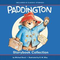 Paddington Storybook Collection: Paddington at the Circus, Paddington in the Garden, Paddington Bear and the Busy Bee Carnival, Paddington and the Magic Trick, Paddington's Day off, Paddington and the 0062668501 Book Cover