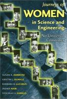 Journeys of Women in Science and Engineering: No Universal Constants (Labor and Social Change Series) 1566395283 Book Cover