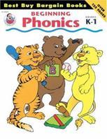 Beginning Phonics, Grades K to 1 (Best Buy Bargain Books) 0867344601 Book Cover