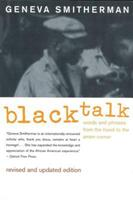 BLACK TALK 0395699924 Book Cover