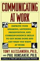 Communicating at Work 0671788558 Book Cover