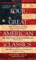 Four American Novels (The Scarlet Letter/ Moby Dick/ The Red Badge of Courage/ The Bridge of San Luis Rey) 0451530551 Book Cover