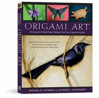 Origami Art: 15 Exquisite Folded Paper Designs from the Origamido Studio 4805309989 Book Cover