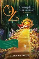 Oz Books Collection: Volume 3: The Patchwork Girl of Oz, Tik-Tok of Oz, The Scarecrow of Oz 1442485493 Book Cover