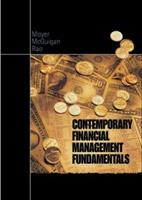 Contemporary Financial Management Fundamentals with Thomson ONE 0324015771 Book Cover