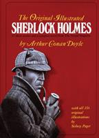 The Adventures of Sherlock Holmes / The Memoirs of Sherlock Holmes / The Return of Sherlock Holmes / The Hound of the Baskervilles 0517345838 Book Cover