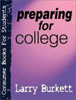 Preparing for College (Consumer Books for College Students) 0802409806 Book Cover