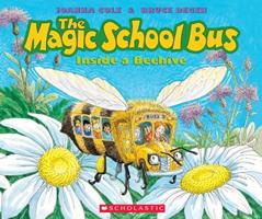 The Magic School Bus Inside a Beehive 0590446843 Book Cover