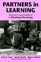 Partners in Learning: Teachers and Children in Reading Recovery (Language and Literacy Series (Teachers College Pr)) 0807732974 Book Cover