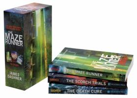 The Maze Runner Trilogy 0385373791 Book Cover