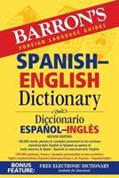 Spanish-English Dictionary (Barron's Bilingual Dictionaries) 0764133292 Book Cover